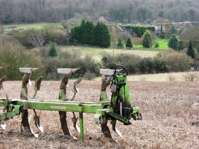 Plough with West Leith beyond.