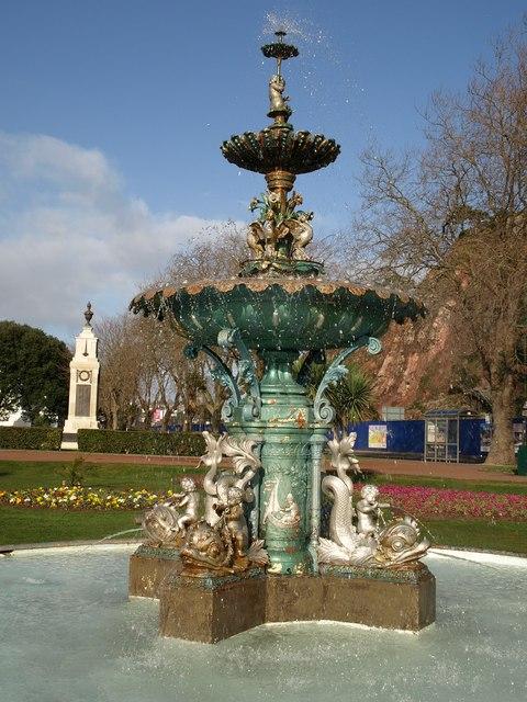 Fountain, Princess Gardens, Torquay
