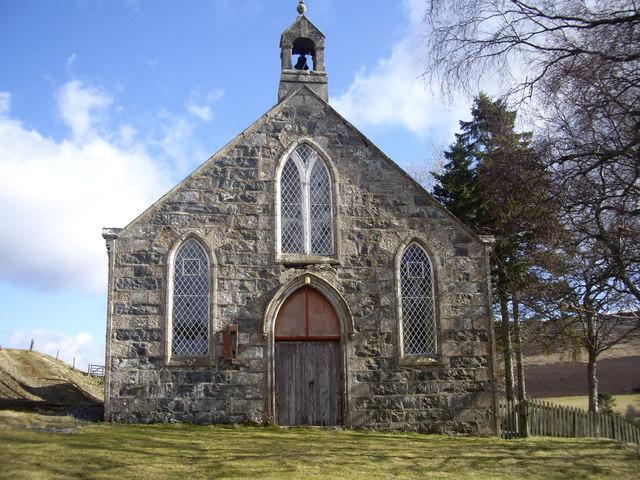 West Door, Lower Cabrach Church
