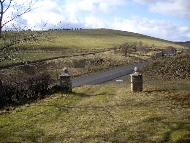 Gateposts, Lower Cabrach Church