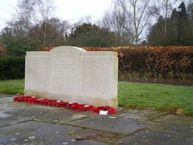 Shifnal War Memorial