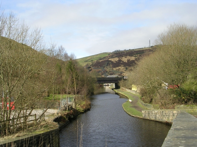 Rochdale Canal - Rochdale Road