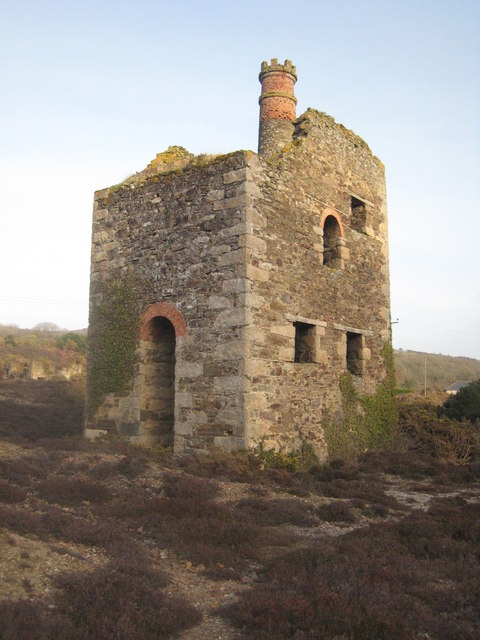 Engine house at Wheal Ellen mine
