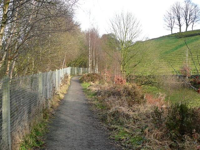 Cycleway, Mytholmroyd