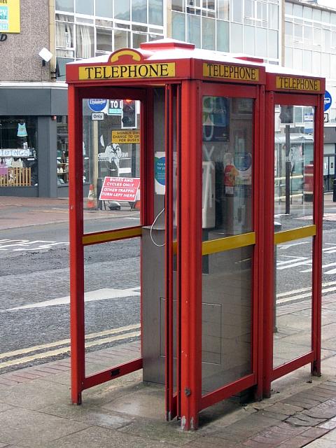 New style phone kiosks