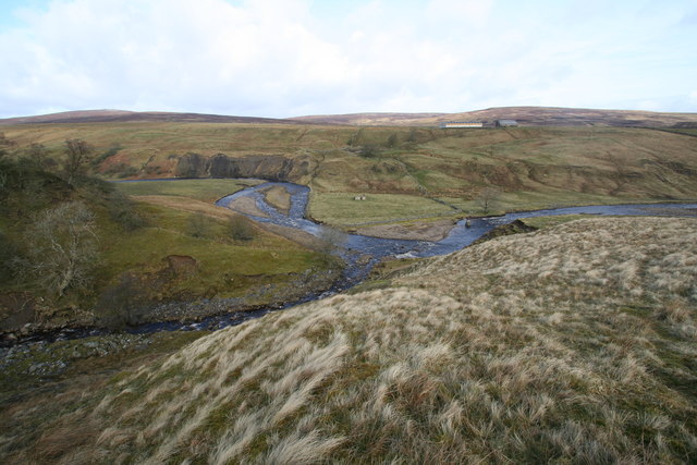 Confluence of Grow Sike and River Lune