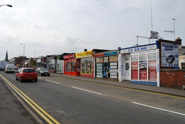 Shopping Arcade, Station Approach, Tonbridge