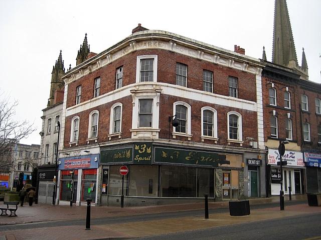 Former Borough Market Hotel