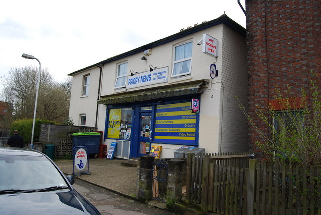 Priory News, Minimarket & Off License, Priory Rd