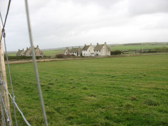 Former MOD houses at Ty Croes