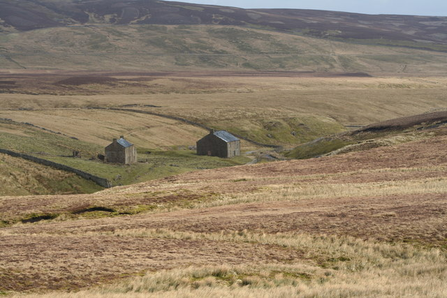 Old mine buildings at Cleve Beck