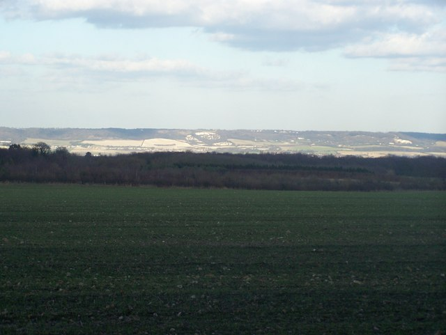 View of the Kent North Downs