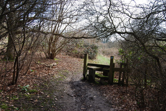 A Stile on the Hangers Way