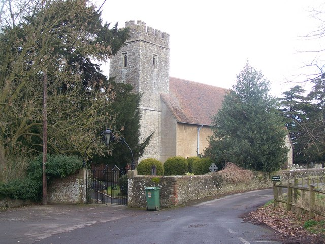 All Saints Church, West Farleigh (1)