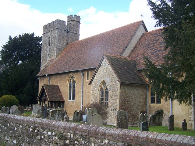 All Saints Church, West Farleigh (2)