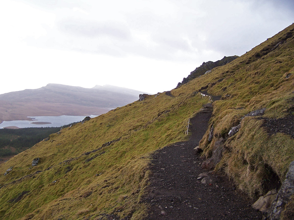 Path below The Storr