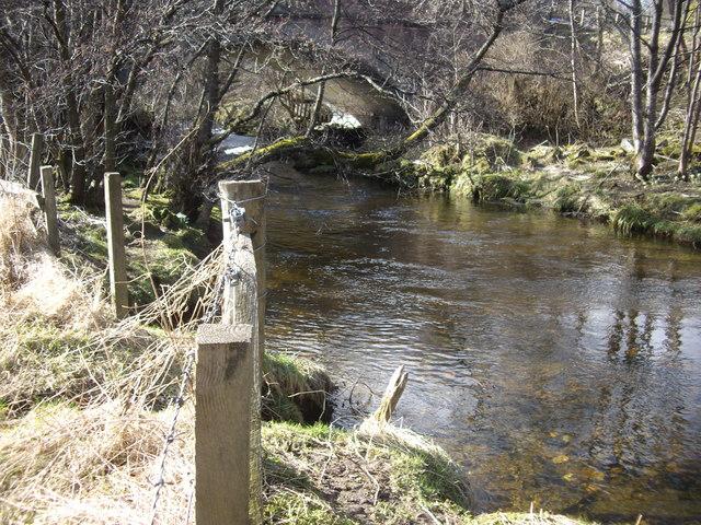 Looking upstream Dullan Water