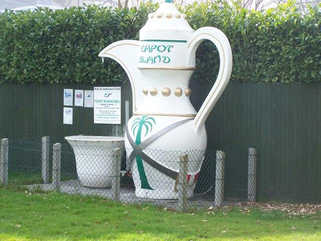 Teapot Island Wishing Well