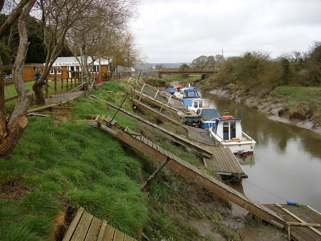 The River Cynin near St. Clears