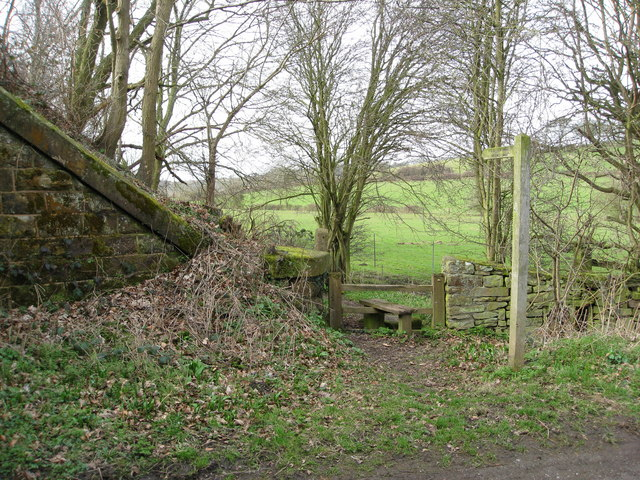 Footpath to Fritchley