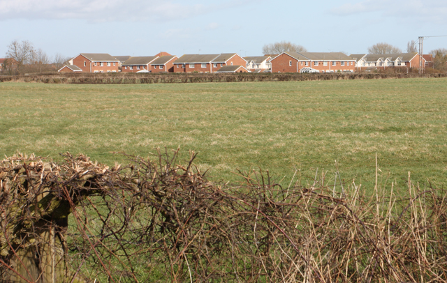 New housing south of Beverley