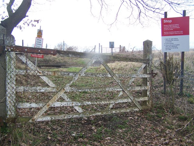 Level crossing in Green Farm