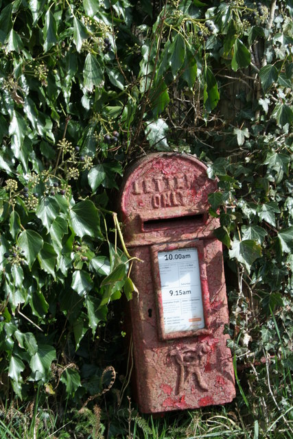 Antique Post Box.