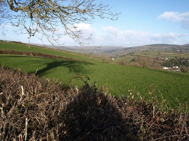 Field above Chuley Cross
