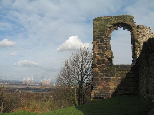 Halton Castle and Fiddler's Ferry