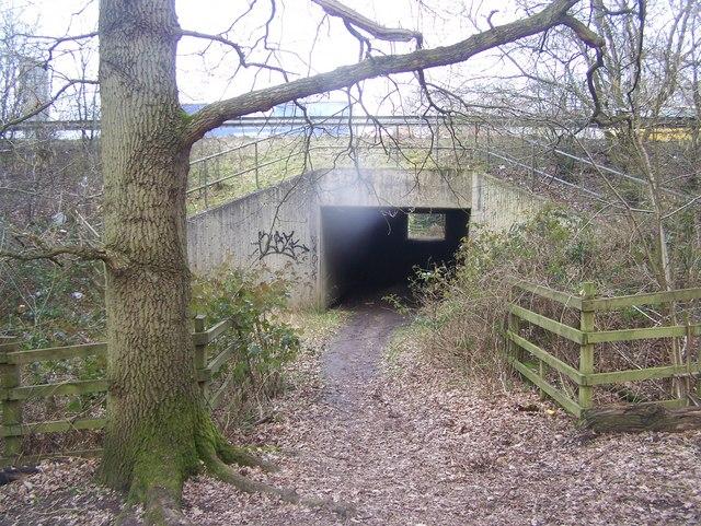 Subway under M20 Motorway