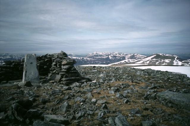 Ben Alder summit