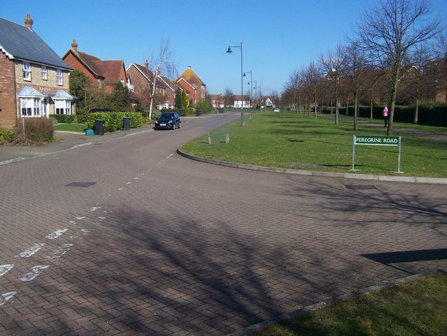 Peregrine Road and Pippin Way Road junction