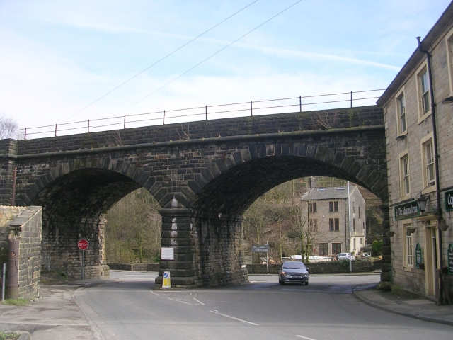 Bridge MVN2 -101 Gauxholme No. 1 Viaduct (Bacup Road)