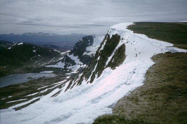 Garbh Choire and ridge to Ben Alder