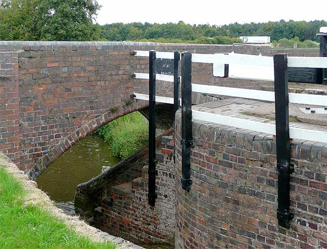 Longford Lock and Broom Bridge, near Penkridge, Staffordshire