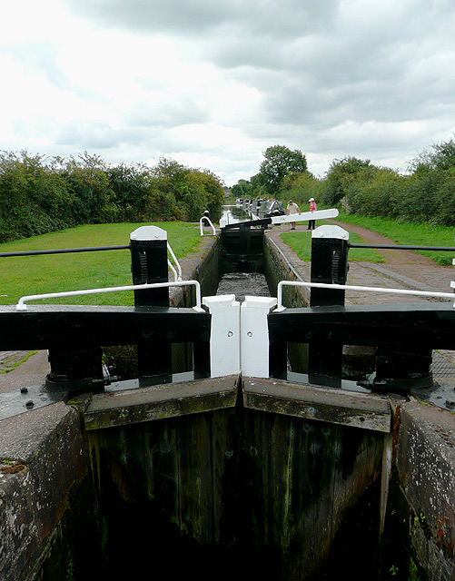 Longford Lock No 39, north of Penkridge, Staffordshire