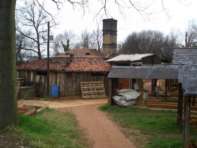 Kiln at the Bulmer Brick and Tile Works