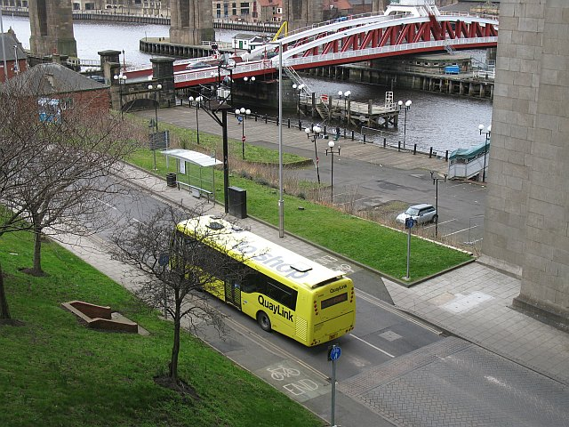 Bus, Gateshead