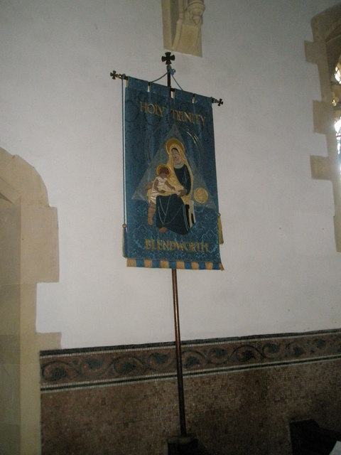 Banner within Holy Trinity, Blendworth