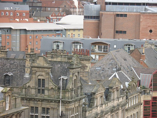 Quayside rooftops
