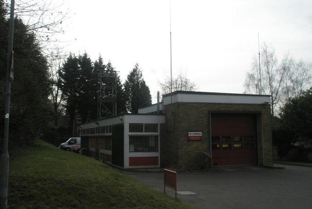 Horndean Fire Station in Blendworth Lane