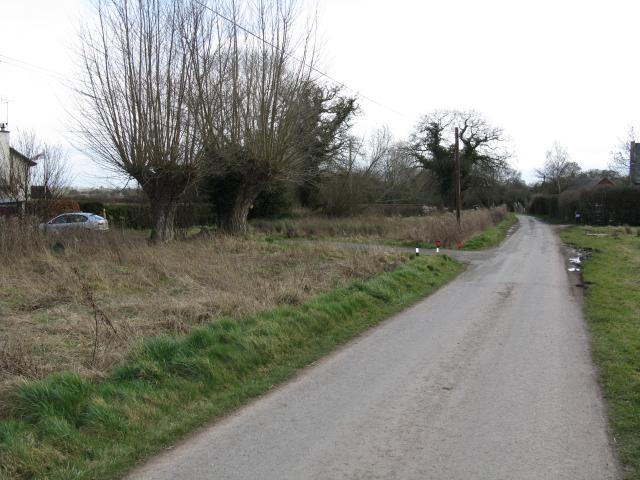 Lane At Maund Bryan
