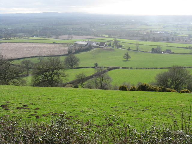 Lowdy Hall From Shortwood Farm