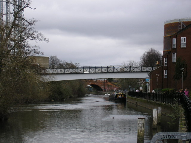 Footbridge over the Kennet, Reading