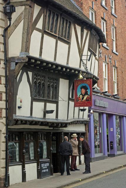 King's Head, Shrewsbury