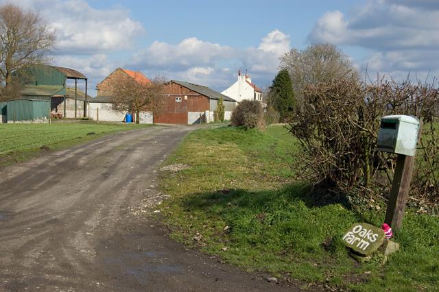 Oaks Farm entrance, Holme-on-Spalding-Moor