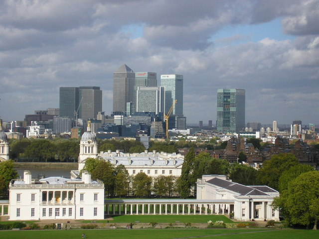 College from the hill, Greenwich