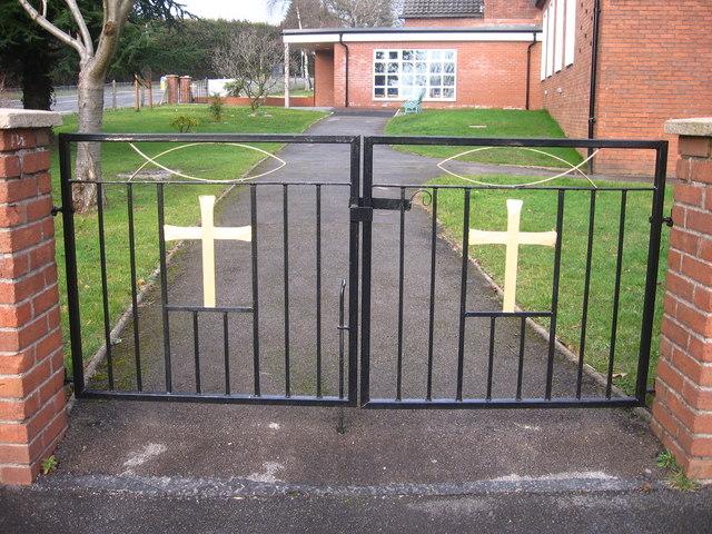 Llanyrafon Church Gates