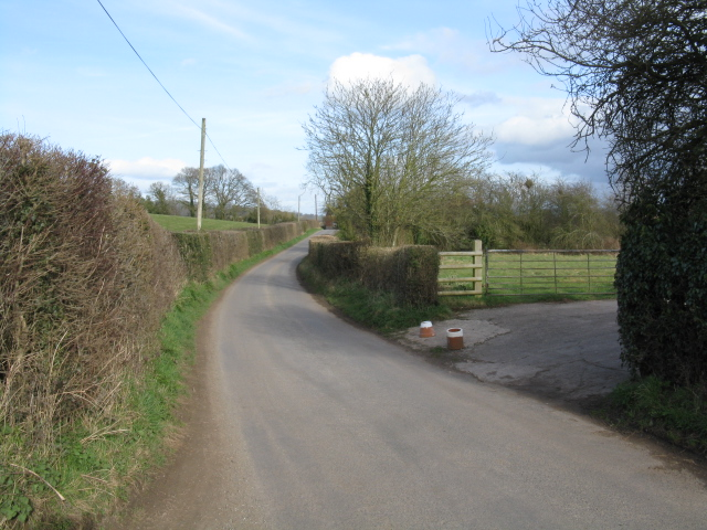 Toward Bishop's Frome
