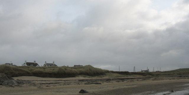 Houses alongside the A4080
